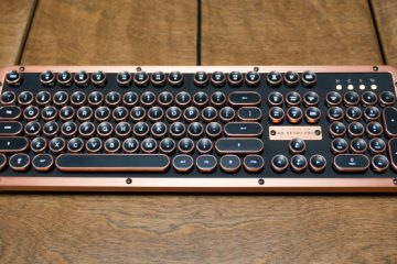 Azio typewriter keyboard