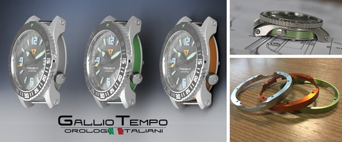 galliotempo trident watch
