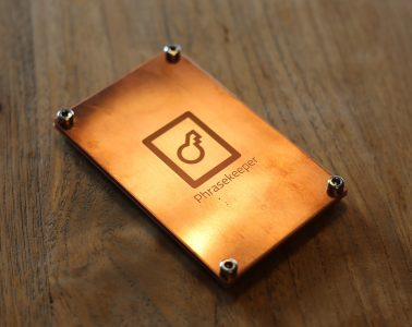 phrasekeeper copper crypto backup kickstarter