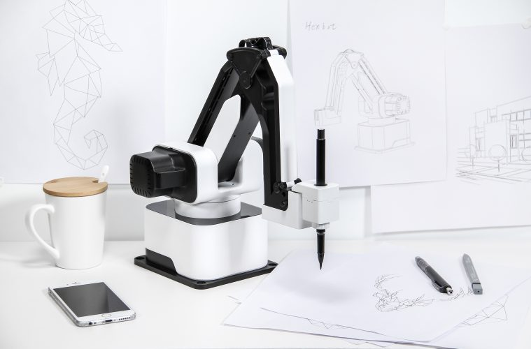 hexbot kickstarter robotic arm review
