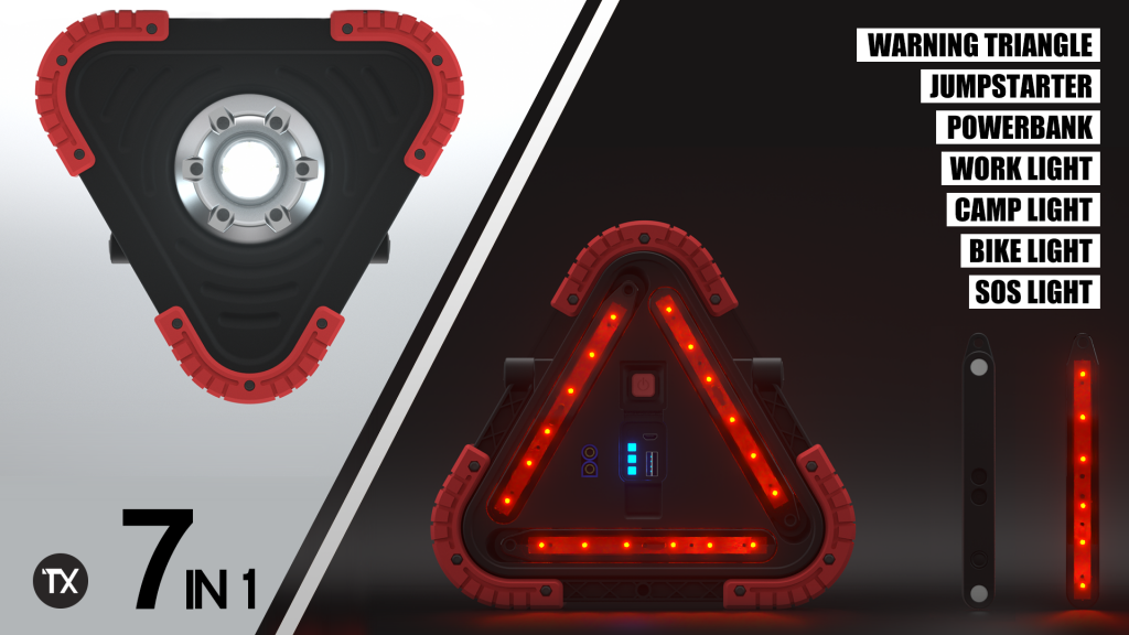 trilight 7-in-1 safety light
