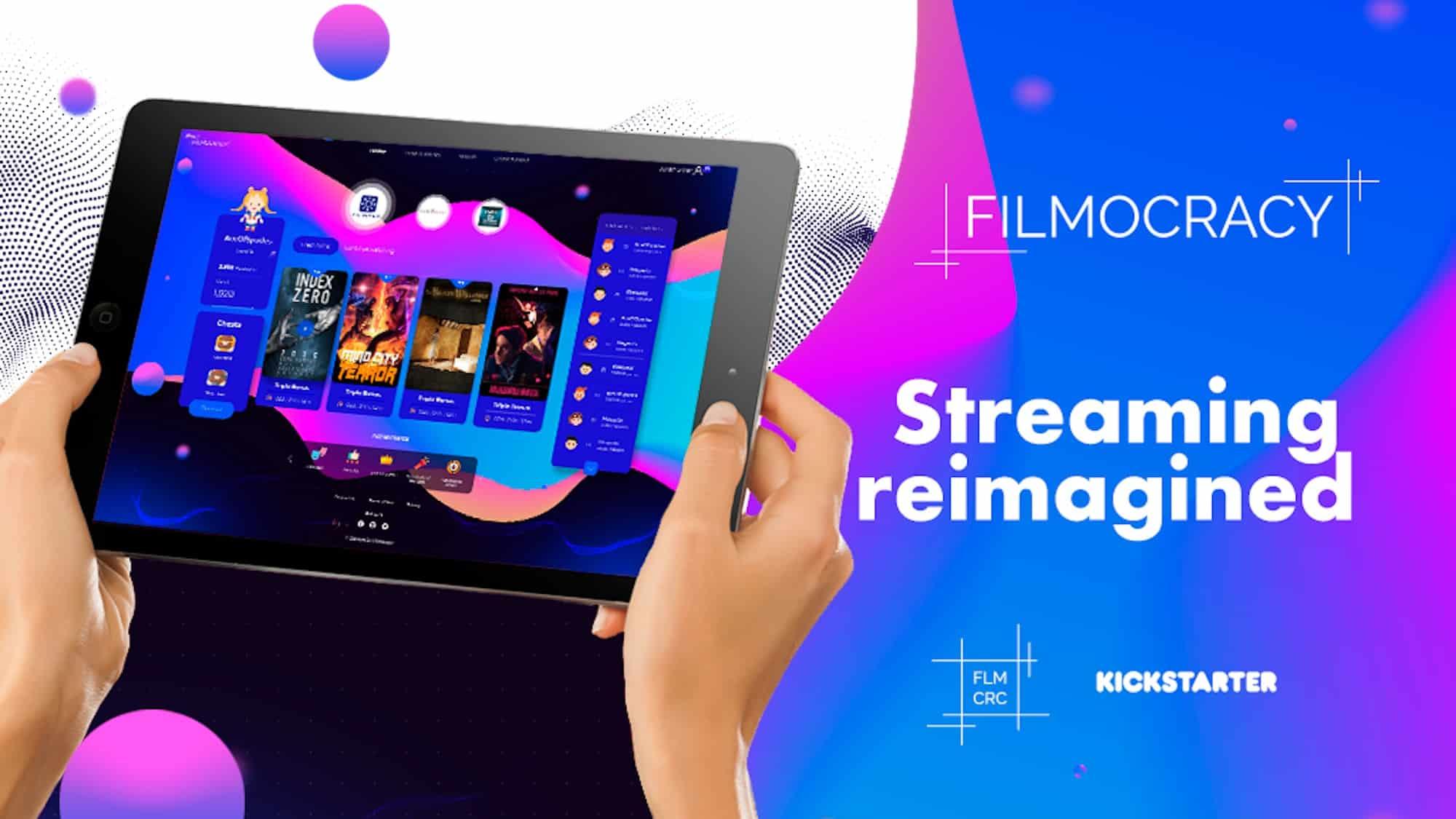 filmocracy video streaming platform on kickstarter
