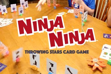 Ninja Ninja card game review kickstarter