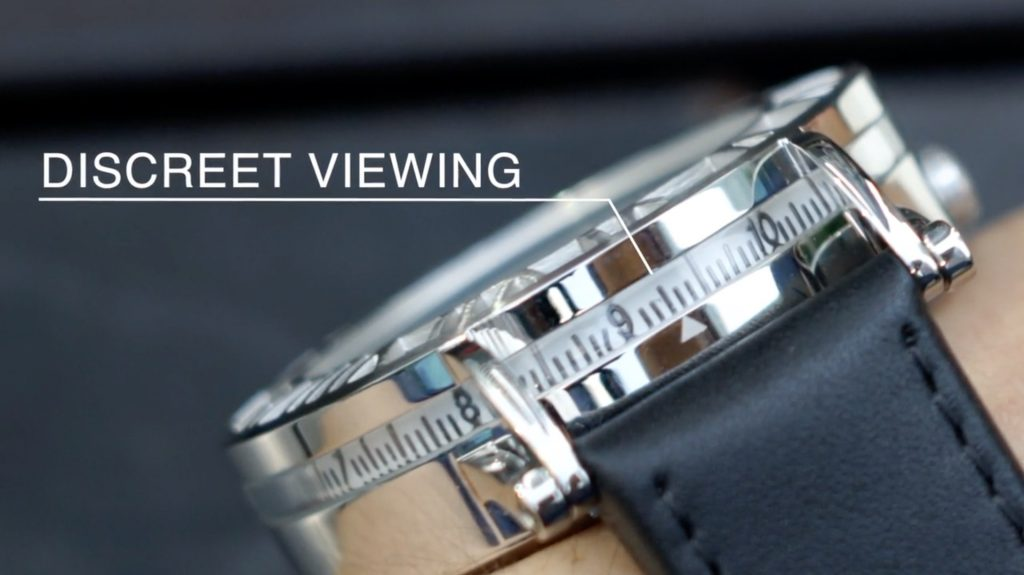 discrete viewing watch