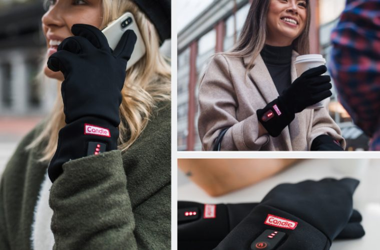 candle heated glove indiegogo review