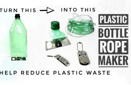 turn plastic bottles in rope tool review