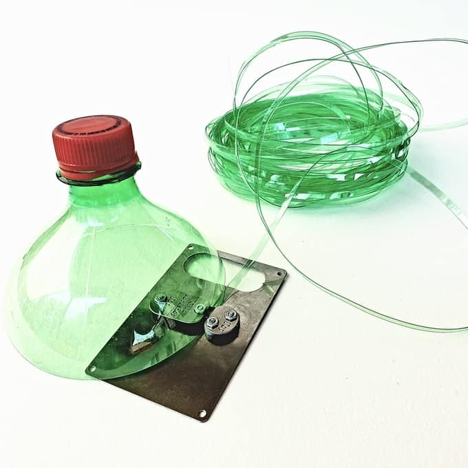 plastic bottle rope maker
