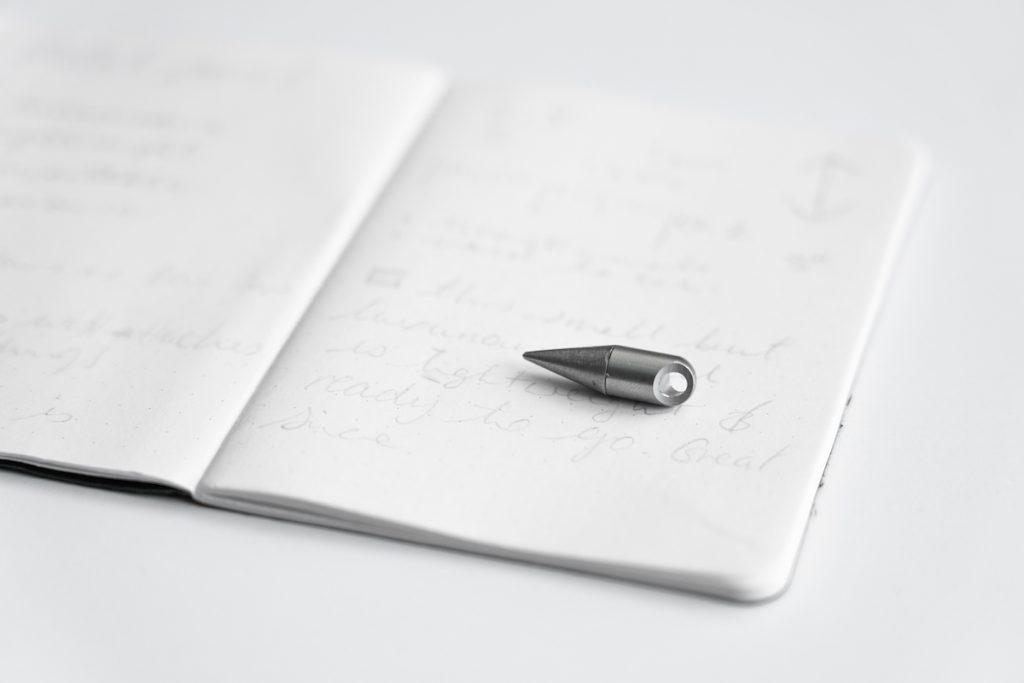 smallest silver tip pen